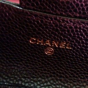 CHANEL Bags - Authentic Chanel card holder/change holder